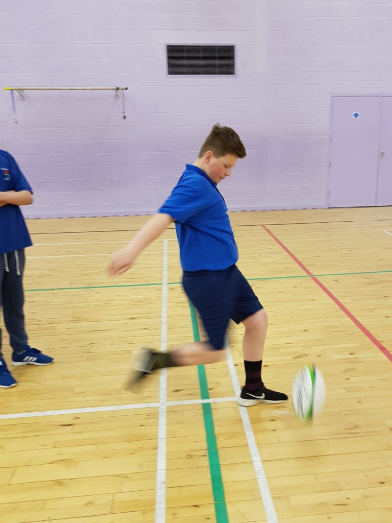 Students enjoy weekly sport at the Sports Centre
