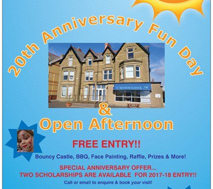 Fun Day-Open Afternoon 2017